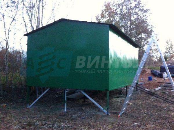 Винтовые сваи для гаража Кемерово