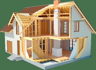 Строительство каркасных домов Кемерово. Строительство дачных домов под ключ в Кемерово недорого.