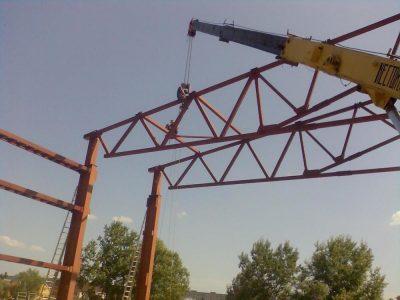 Металлоконструкции производство изготовление и монтаж в Кемерово. Монтаж металлоконструкций недорого.