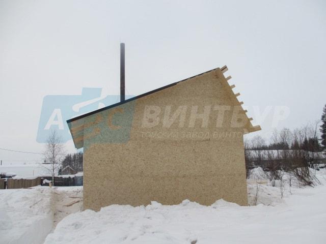 Строительство домов Кемерово. Строительство домов под ключ в Кемерово на винтовых сваях завода АС-ВинтБур.