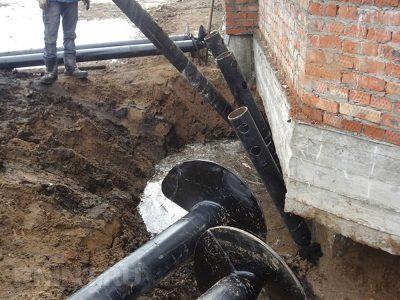 Усиление фундамента при помощи винтовых свай. Винтовые сваи в Кемерово по низким ценам от завода.