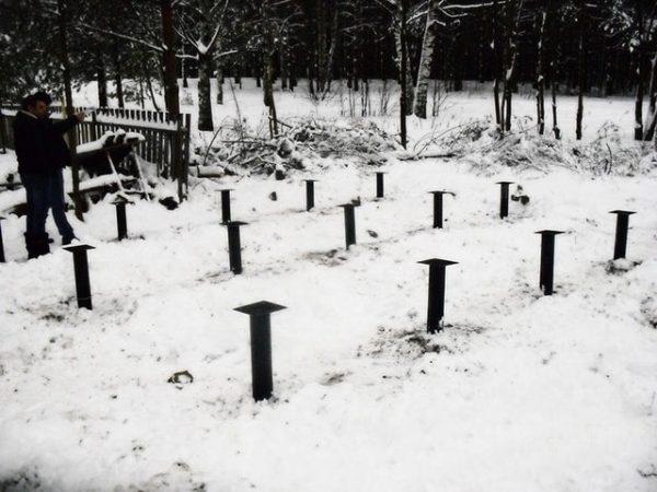 Винтовой фундамент Кемерово